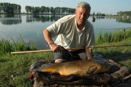 Monster Mirror Carp in Italy